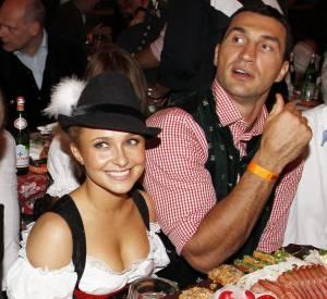 Hayden Panettiere et Wladimir Klitschko en 2010.