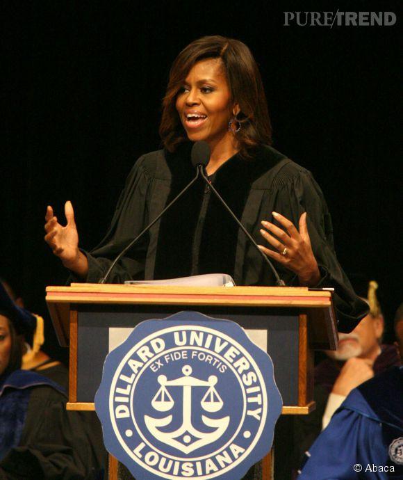 Malgré sa popularité et son éloqence, Michelle Obama ne souhaite absolument pas se lancer en politique.