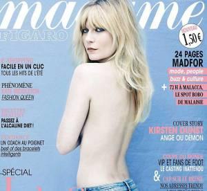 Kirsten Dunst : topless et chute de rein de folie pour Madame Figaro