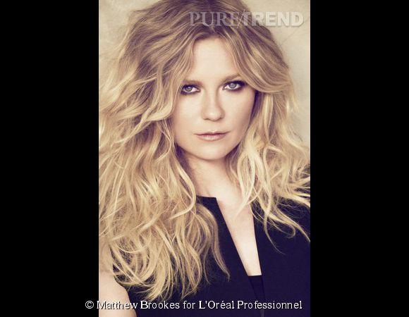 Kirsten Dunst est porte-parole de L'Oréal Professionnel.