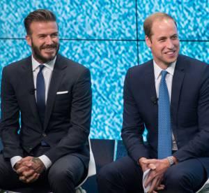 Prince William et David Beckham : duo de British sexy, élégants... et écolo !