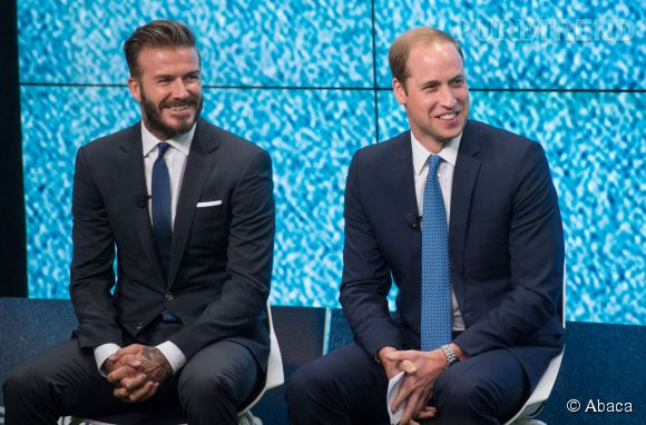 David Beckham a été nommé ambassadeur de la fondation United for the Wildlife, par le Prince William à Londres le 9 juin 2014.