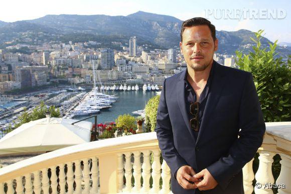 Justin Chambers (Alex Karev dans Grey's Anatomy) lors du Festival de Monte-Carlo 2014