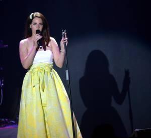 Lana Del Rey au gala de l'amfAR à Cannes en mai 2014.