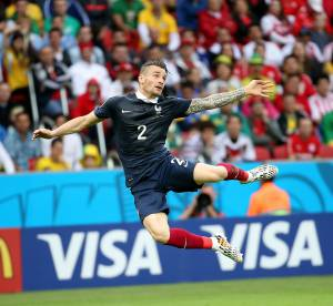Mondial 2014 : Mathieu Debuchy, portrait d'un Beckham à la française