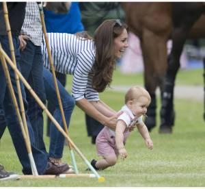 Kate Middleton : le Prince George fait ses premiers pas pour la fête des pères