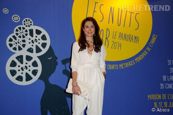 Elsa Zylberstein aux Nuit en or - Le panorama à l'UNESCO le 16 juin 2014.