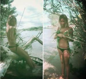 Florie (QVEMF) : l'amoureuse de Florian topless sur Facebook