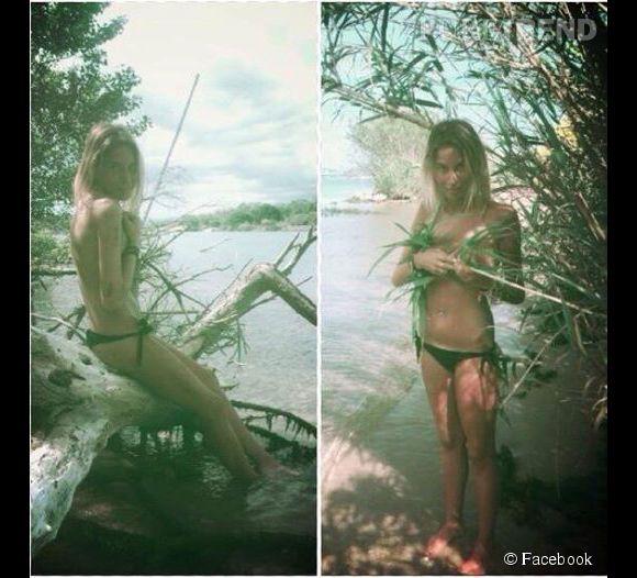 Florie de Qui veut épouser mon fils 3 a trouvé le moyen de clouer le bec de son Florian en posant topless sur Facebook !