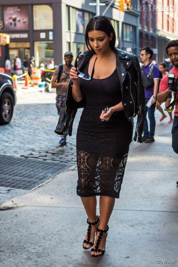 Kim Kardashian, un certain amour pour les looks sexy.
