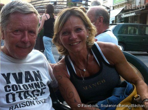 Renaud a retrouvé l'amour depuis 2012, dans les bras de Sylvie Ehleringer.