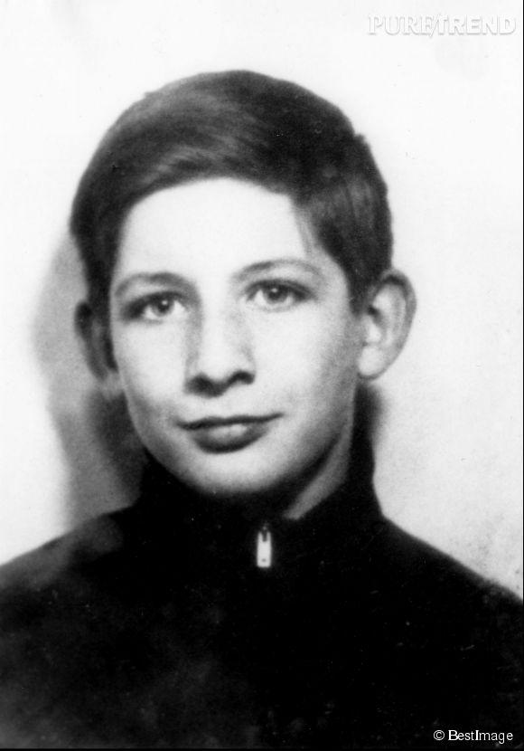 Portrait de Patrick Sébastien lorsqu'il était enfant.