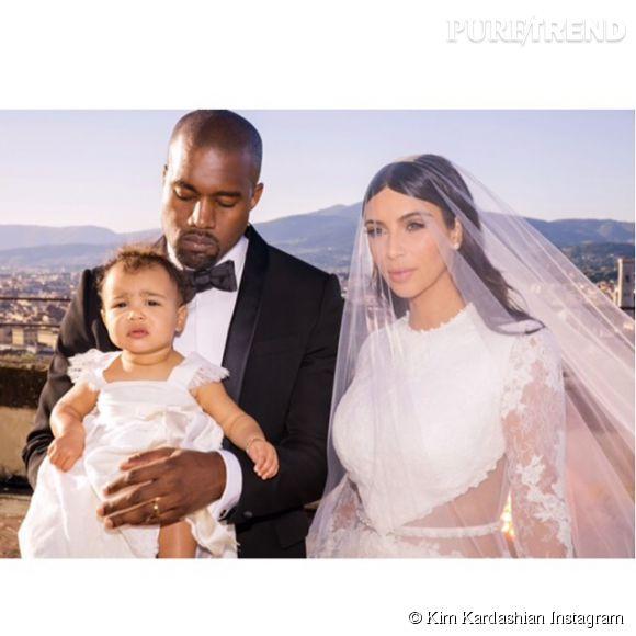 North West, la fille de Kanye West et Kim Kardashian victime de racisme.