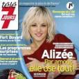 Et depuis son succès dans DALS, Alizée fait la Une de tous les magazines.