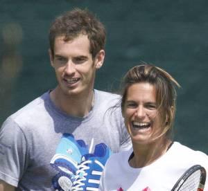 Amélie Mauresmo et Andy Murray : complicité naissante sur le court