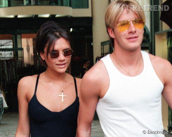 Victoria et David Beckham... avant !