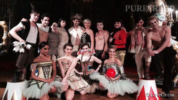 A la rentrée, Maximilien Philippe sera à l'affiche de la comédie musicale  Love Circus .