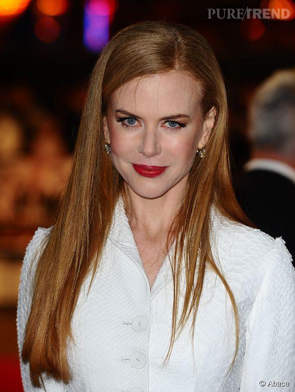 """Nicole Kidman à la première de """"Nine"""" à Londres en 2009."""