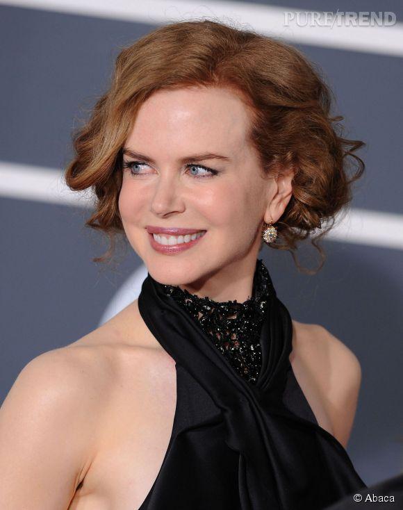 Nicole Kidman lors des Grammy Awards en 2010.