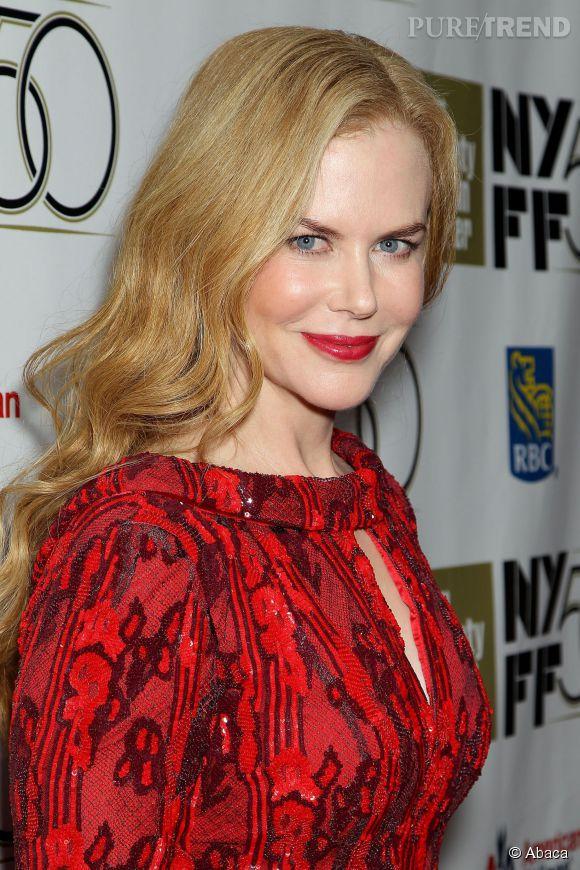 Nicole Kidman au New York Film Festival en 2012.