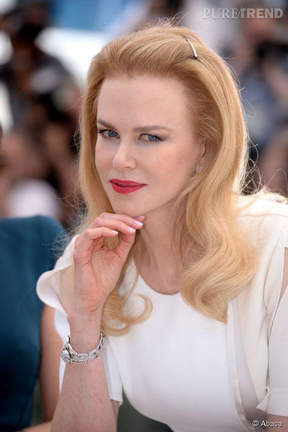 """Nicole Kidman, l'actrice de """"Grace de Monaco"""" au Festival de Cannes en 2014."""