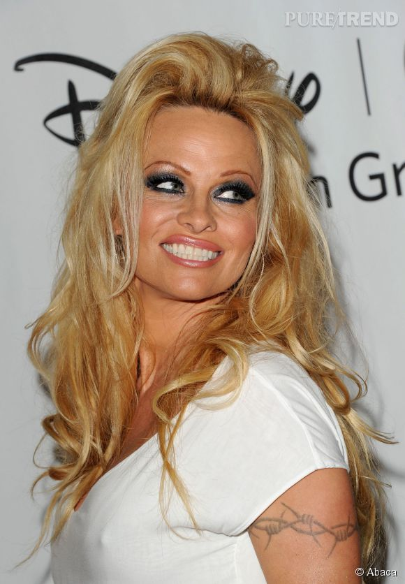 Pamela Anderson, jolie tigresse.