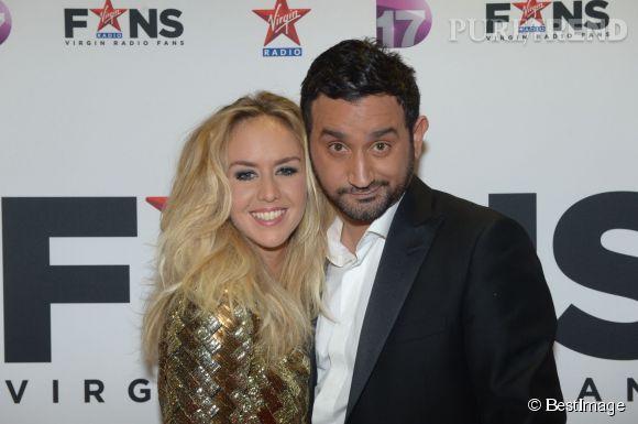 """Enora Malagré et Cyril Hanouna, les deux stars de """"Touche pas à mon poste""""."""