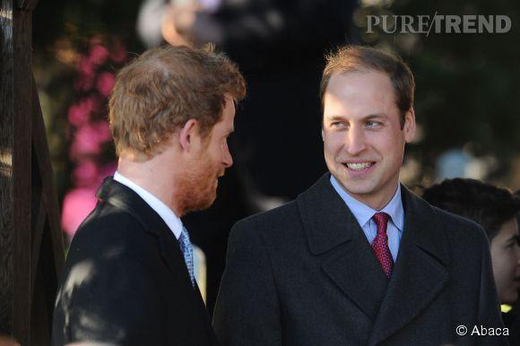 Prince William et Prince Harry, les deux frères complices et drôles de la famille royale britannique.