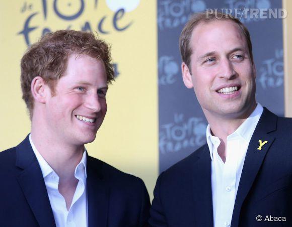 Prince William et Prince Harry, un selfie royal à Buckingham Palace comme on en rêvait !
