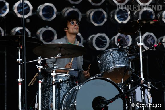 Rencontre avec Fabrizio Moretti du groupe The Strokes.