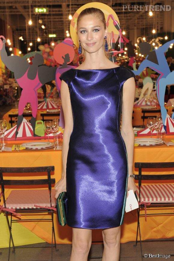 Beatrice Borromeo lors d'un diner de gala à Milan en juin 2014.