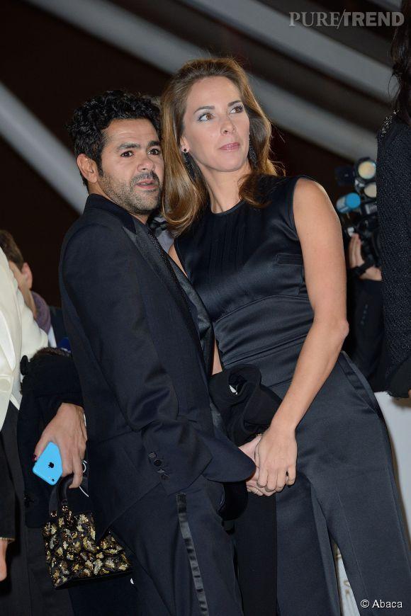 Melissa Theuriau et Jamel Debbouze, couple glamour en France.