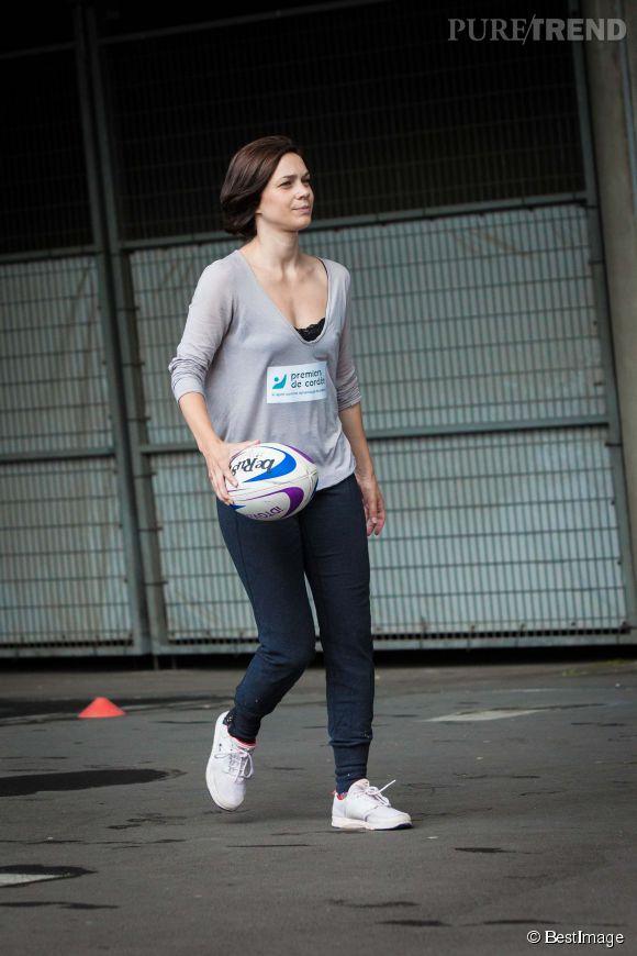 Nathalie Péchalat, une sportive dans l'âme. A peine retraitée, elle s'embarque dans l'aventure Danse avec les stars.