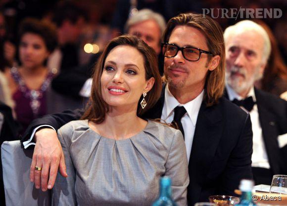 Angelina Jolie et Brad Pitt : couple le plus romantique et glamour d'Hollywood.