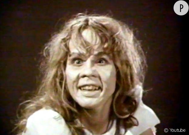 "Linda Blair dans ""L'Exorciste"", en 1973."