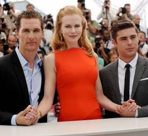 """Nicole Kidman et son roux très clair lors du Festival de Cannes 2012 lors du photocall du film """"Paperboy"""" avec Matthew McConaughey et Zac Efron."""