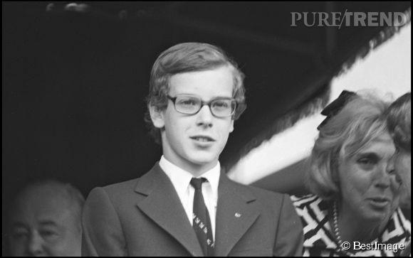 Le Prince Albert II de Monaco en 1971.