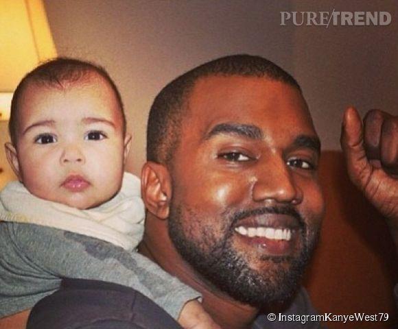 Kanye West, papa protecteur avec North, ne souhaite pas avoir un deuxième enfant. Jusqu'au caprice de sa belle, sans doute.