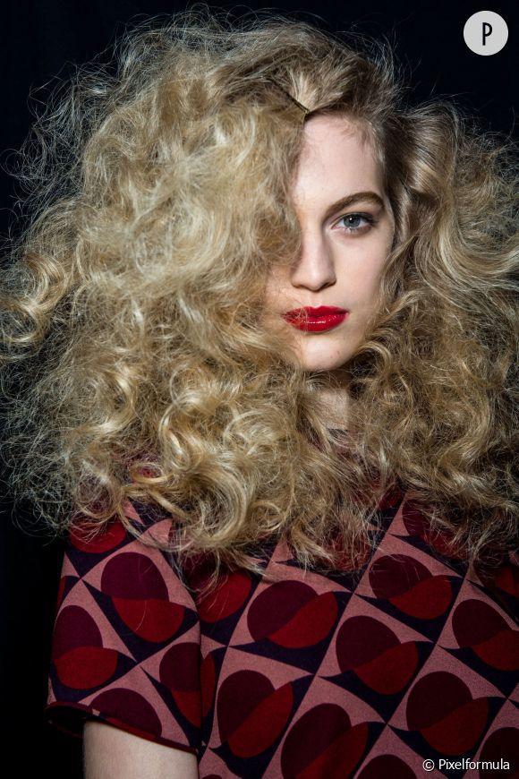 Les beautés aux cheveux frisés ont parfois bien des difficultés à gérer leur crinière.
