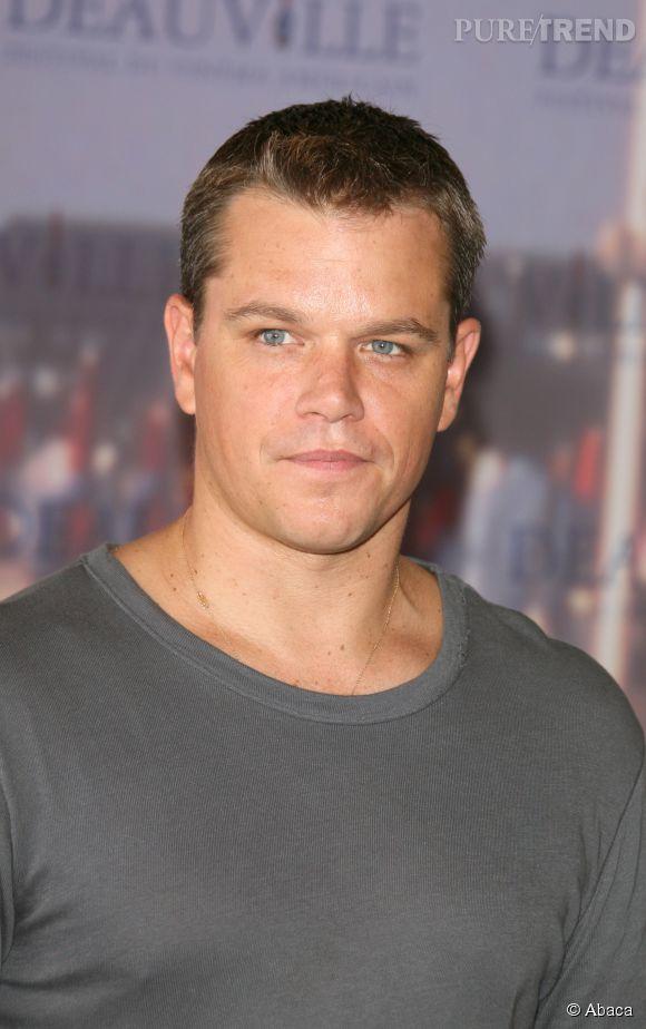 """Matt Damon, acteur mythique de la saga """"Jason Bourne""""."""