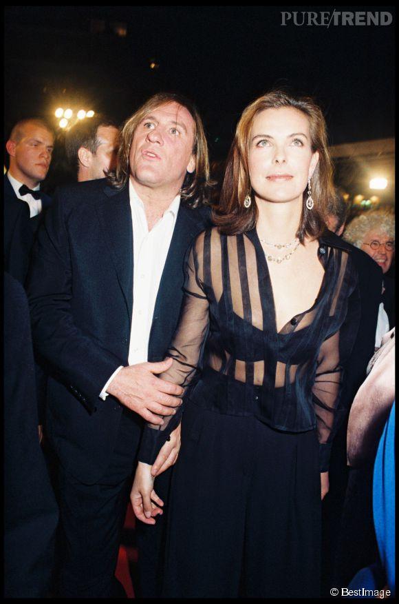 Carole Bouquet et Gérard Depardieu. Deux comédiens incontournables du cinéma français qui se sont aimés durant neuf ans.