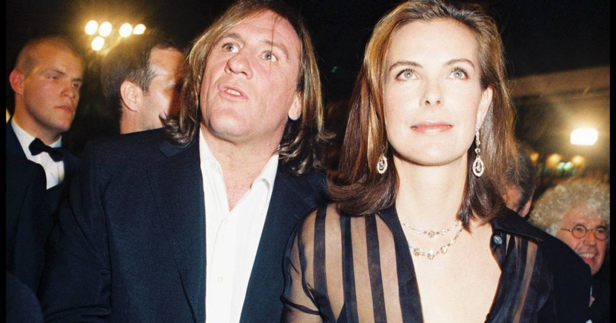 carole bouquet g rard depardieu jean pierre rassam les hommes de sa vie puretrend. Black Bedroom Furniture Sets. Home Design Ideas