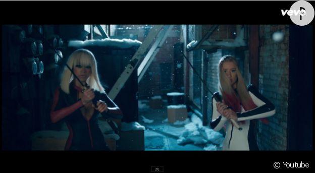 """Rita et Iggy se la jouent """"Kill Bill."""""""
