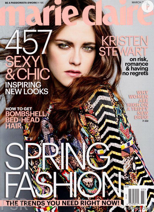 Kristin Stewart fait toujours la couverture des magasines.