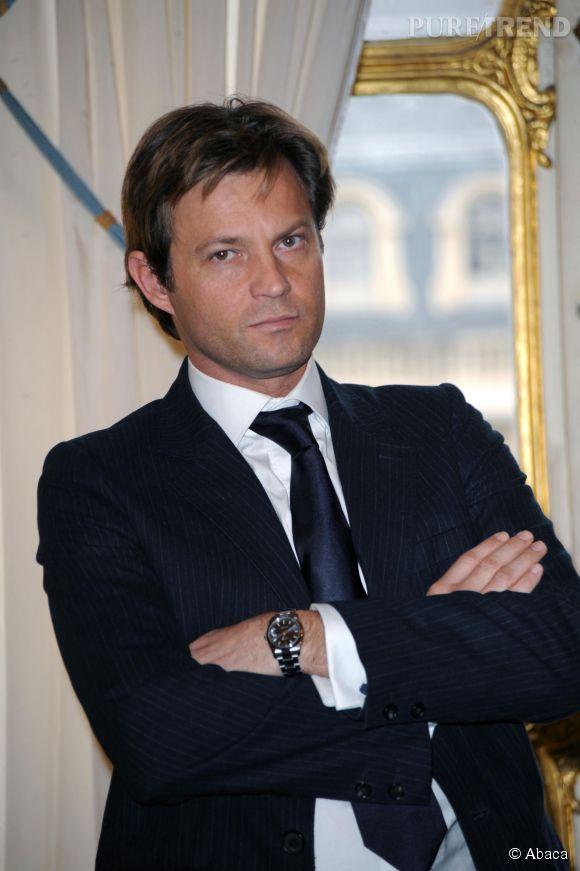 Laurent Delahousse en a plus que marre de recevoir les petites culottes de ses admiratrices devant France télévision.