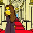 Kate Middleton, une version Simpson par  Alexsandro Palombo.