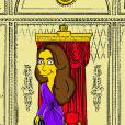 Kate Middleton, une version Simpson signée  Alexsandro Palombo.