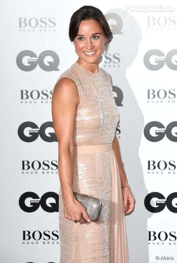 Pippa Middleton, surprise lumineuse des GQ Men of The Year 2014.