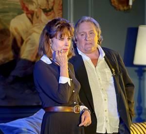 Fanny Ardant et Gérard Depardieu : en couple en Lettonie