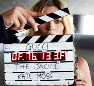 """Kate Moss : héroïne mystérieuse du court métrage Gucci pour le """"Jackie Soft"""""""
